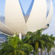 Stock Photo: Singapore Science Museum viewpoint