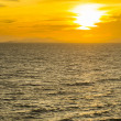 Sunset sea — Foto Stock
