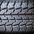 Tire background texture — Foto Stock