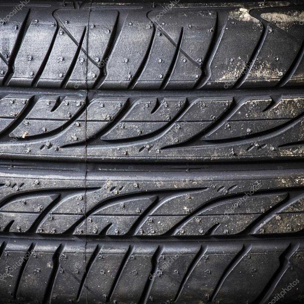 轮胎背景纹理– 图库图片