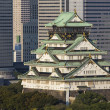 Stock Photo: Osaka castle. Japan