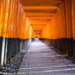 Fushimi Inari Taisha shrine. Kyoto. Japan — Stock Photo #38828923
