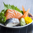 Sashimi Japanese food — Stock Photo