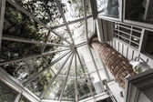 Vintage glass roof — Stockfoto