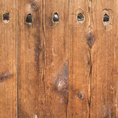 Brown wood plank wall texture background — Stock Photo