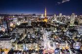 Tokyo cityspace sunset view — Photo
