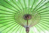 Vintage retro umbrella asian style — Stock Photo