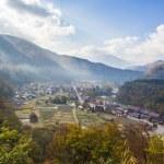 Traditional and historical japanese village ogimachi shirakawa-g — Stock Photo