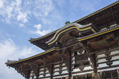 Todai-ji Temple. Nara. Japan — Stock Photo