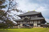 Tódai ji temple. nara. japonsko — Stock fotografie