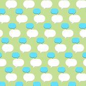 Blase Zitat Muster Hintergrund — Stockvektor