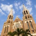Saint mary cathedral. Yangon. Myanmar. — Stock Photo #50049923