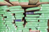 Wood planks prepare in industry wood — Stock Photo