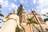 Saint mary cathedral. Yangon. Myanmar. — Foto de Stock