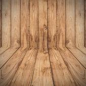 Big Brown wood floor plank texture background — Foto Stock