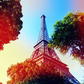Eiffle Tower filter art photography. Paris. France — Stockfoto