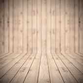 Brown wood planks floor texture with blur background wallpaper f — Stock Photo