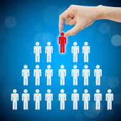 Select person career to work job — Stock Photo