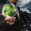 Stockfoto: Recycle energy