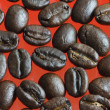 Hires coffee beans — Foto Stock