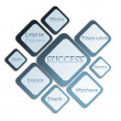 Success business diagram — Stock Photo