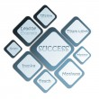 Stock Photo: Success business diagram
