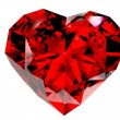 Stock Photo: Red diamond 3d