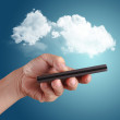Cloud computing concept — Stock Photo #13044893