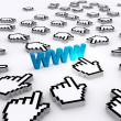 Stock Photo: Internet World Wide Web