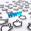 Internet World Wide Web — Stock Photo