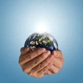 Saving world concept — Stock Photo