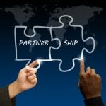 Concept partnership — Stock Photo #13121471