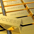 Success of gold — Stock Photo #13123294