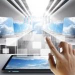 Cloud network concept — Stock Photo #13123331