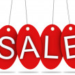 Sale tags - Foto de Stock