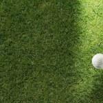 golf pelota — Foto de Stock