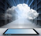 Cloud-konzept — Stockfoto