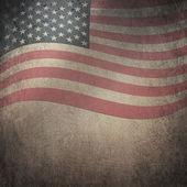 Grunge flagge usa — Stockfoto