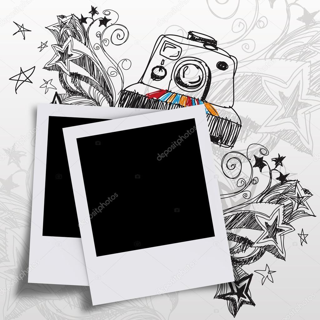空白照片和涂鸦艺术— 照片作者 buchachon_photo
