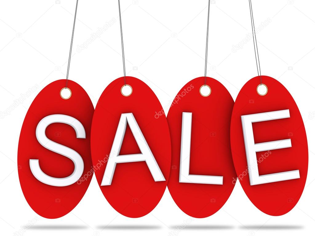 Sale tags — Stock Photo #13123336