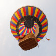 Colorful Hot Air Balloons in Flight — Stock Photo