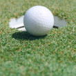 Golf ball on green — Stock Photo #13148973