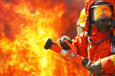 Firefighters — Stock Photo