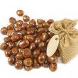 A pile of chestnuts — Stockfoto