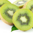 Kiwi fruit isolated — Stockfoto