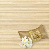 Fleur de frangipanier closeup — Photo