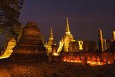 Wizerunek buddy i mnichów — Zdjęcie stockowe