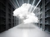 Concetto di rete cloud — Foto Stock