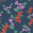 Seamless original pattern — Vector de stock