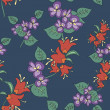 Seamless original pattern — Stockvektor